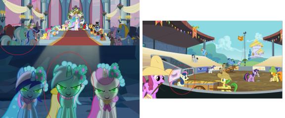I give you 'The Clones of Lyra' and 'Cowboy Bon Bon'