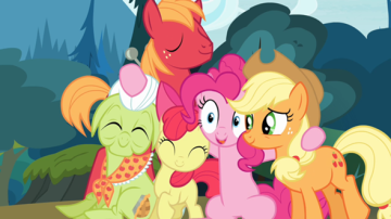 pinkie apple
