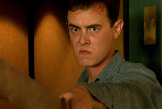 """""""Hey there!  I'm gonna be the bad guy this season!  I'm scary… right?"""" (That's Colin Hanks.  Yes, the son of Tom Hanks)"""
