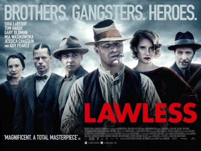 LAWLESS UK Quad poster