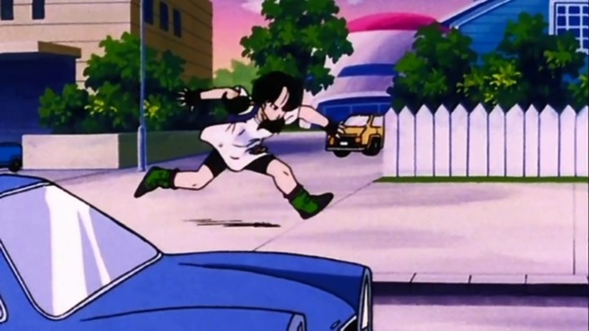 That's a ninja stride right there.