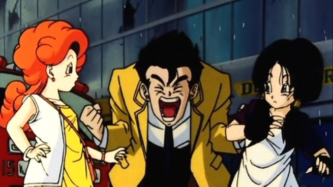 """So anyway, it turns out that Gohan""     ""AHHHHHHH!!!!!!!!!""     …..     ""Ya done?  So anyway…"""