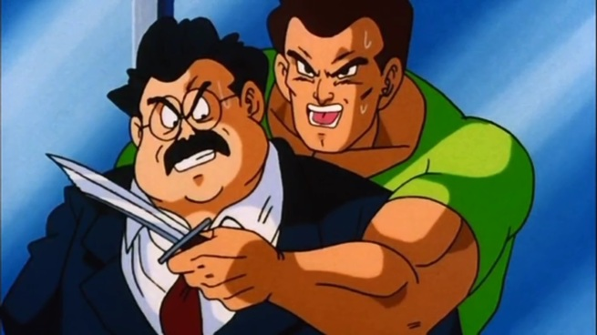 """""""We want Mr. Satan to give us his autograph, or else fatty loses his head!"""""""
