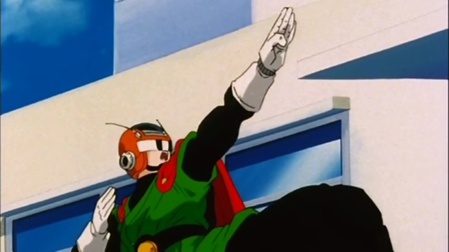 """""""I've come to save you Videl!"""" """"No one asked you to!"""""""