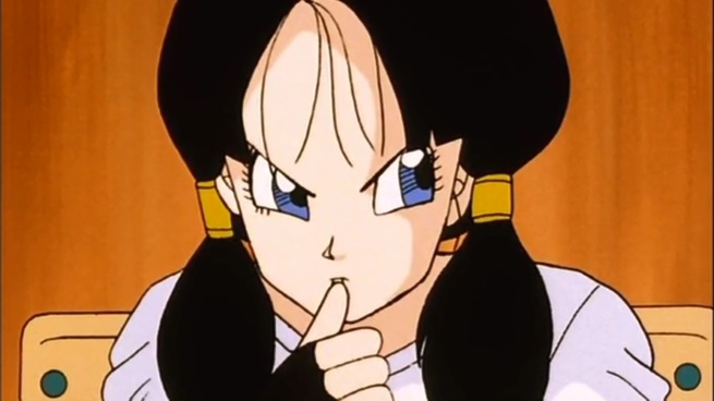 """""""He's late, and I was chasing Saiyaman earlier. Wait, don't I suspect him already?"""""""