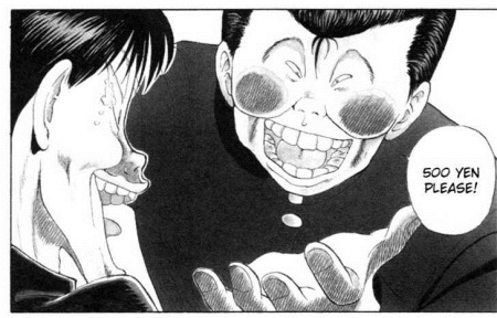 Dude… I'll pay you 5000 yen to NEVER make that face again.