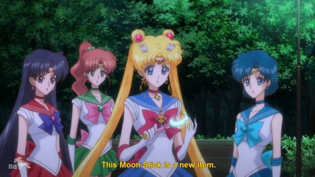 What, that's it? It's not the Lunar Baton, or The Diana Spear? Just… THE MOON STICK!?!?