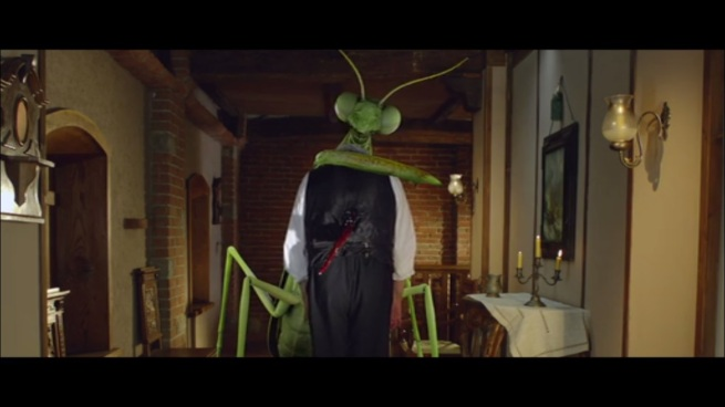 """""""Wassup? Yeah, I can turn into a giant Praying Mantis, what of it?"""""""