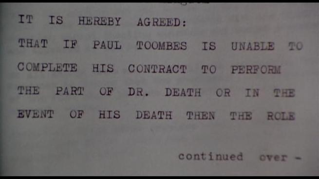 Gee. I wonder who could POSSIBLY be the next Dr. Death? Also, WHY THE HELL WOULD YOU PUT THE LAST FUCKING WORDS ON A SEPERATE PAGE!? WHAT IF THAT PAGE GETS LOST!?