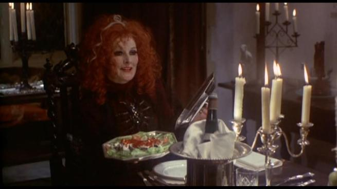 """""""I cooked up Herbert's brains for dinner! Just kidding! It's salmon. Lighten up, will ya?"""""""