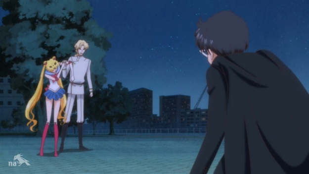 """""""Tuxedo Mask! Save me!!"""" """"I JUST DID!!! Where the hell is your moon stick!?!?"""""""