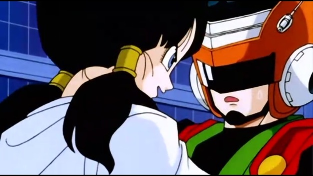 """""""AH HA!! You're Goku, aren't you!? You just can't handle the fact that my dad is the champ now, and this is some mid-life crisis to try and recapture your long dead glory!!!"""""""