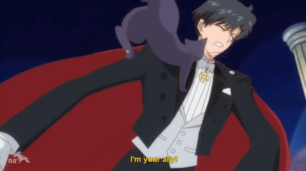 """""""Hey Tuxedo Mask! That's my bread and butter your fucking with!"""""""