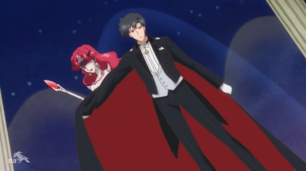 """""""Don't drop that cape yet. I'm still changing and have only managed to put my spiky shoulder pads on."""""""