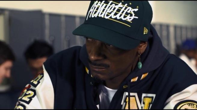 """Say my god damn name."" ""Snoop Dogg? Snoop Lion? DJ Snoopadelic? Snoopzilla? Wait, Cordozar! Is that it!?"""