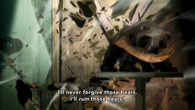 """""""FUCK YOU BEARS!! GO BACK TO EATING FISH!!!"""""""