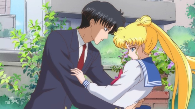 """Get your hands off me!  Go to that bitch who you REALLY love!""     ""Usagi.  She's nine."""