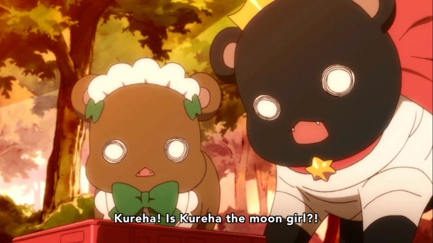 """What are you talking about Ginko?  We're not even on the moon!""     ""SHUT UP LULU!!"""