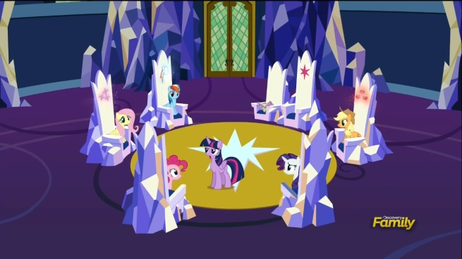 """""""You guys! There's got to be some greater purpose for all of this!"""" """"What's that Twilight? I couldn't hear you over the sound of my back getting proper lumbar support. Ah…"""""""