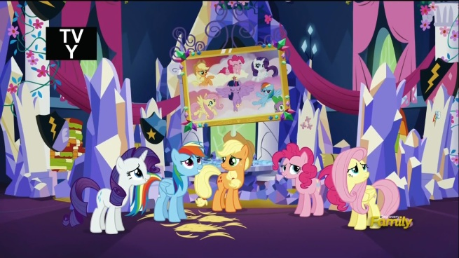 LOOK!! THIS SHOW ABOUT TALKING PONIES IS AMAZING, AND YOU'RE GONNA SIT HERE AND WATCH IT UNTIL YOU REALIZE THAT!!!
