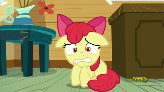 """What if I get a barber Cutie Mark too!?""     ""What's wrong with that?""     ""I don't want to be a barber!""     ""THEN WHY WOULD YOU GET A BARBER CUTIE MARK!?"""