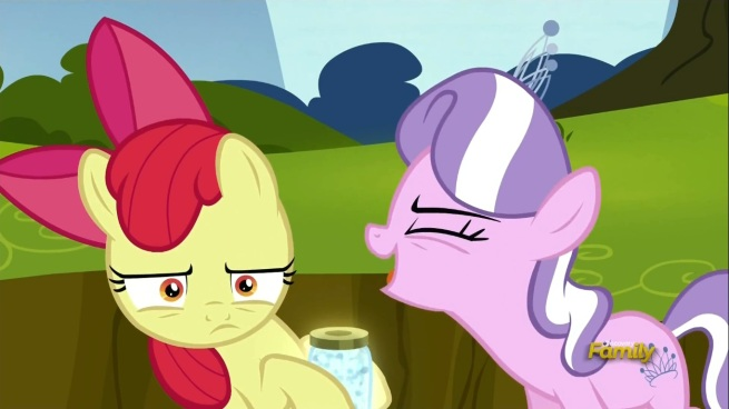 Just open that jar Apple Bloom. You know she deserves it.