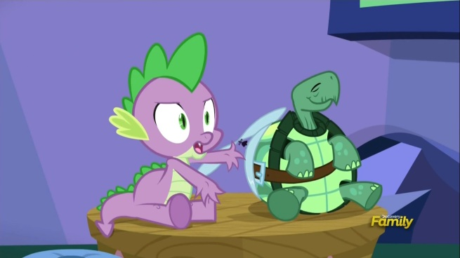 """""""The hell are you asking me for?"""" """"You're an expert! You've got… um.. scales?"""""""