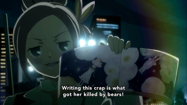 OHH!!! She's done it now! NO ONE TALKS SHIT ABOUT KUREHA'S MOM!!!