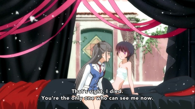 Oh, and apparently Ginko got shot in the boobs because that's the only part that's bandaged.