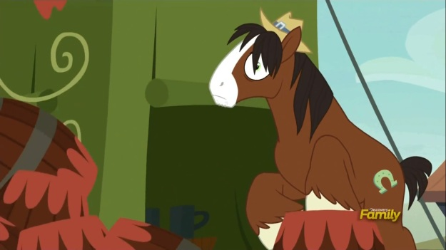 """""""Two ponies died in that barrel tower collapse. I can still hear the screams."""""""