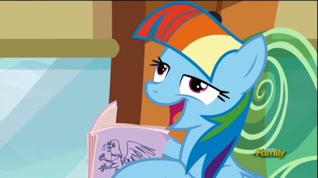 """I'm Twilight!  One day I'm gonna marry a book, cuz the only guys who like me are Star Swirl the Bearded and Ernest Hemming-Nay!"""