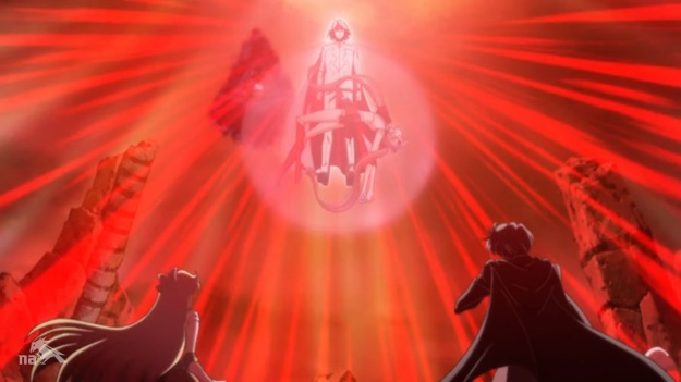 """KNEEL BEFORE YOUR FIERY GOD!!!""     ""You're just using a strobe light you dingus."""