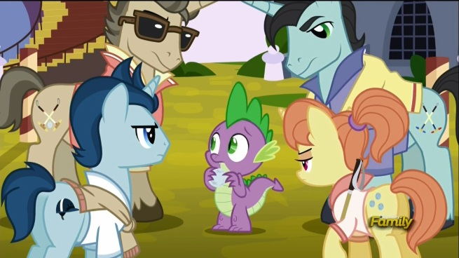 """""""Not cool BRAH! You don't MESS with Omega Theta Pony house!"""" """"HOORAH!!"""""""