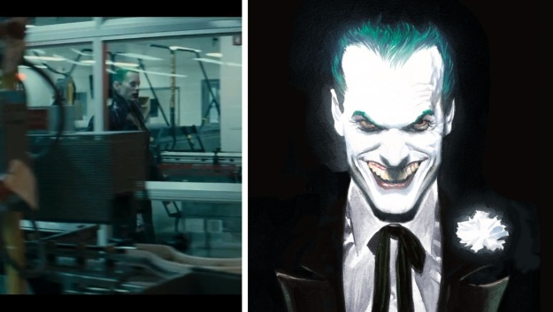 See, THAT'S a Joker I'd like to see. Actually, that's kind of like Nicholson's Joker, right?
