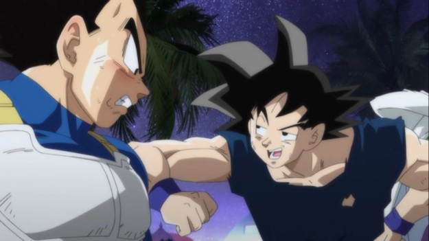 """I got to be a Super Saiyan God! You jealous? Huh? Huh? You jealous!?"""