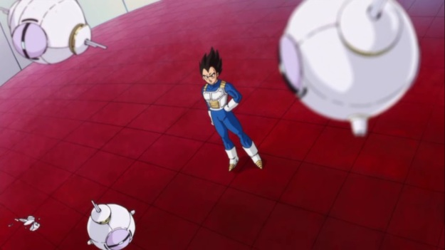 """""""YOU DARE CALL THE PRINCE OF ALL SAIYANS!?"""" """"Uh yeah. Beerus is coming. Just thought you'd like to know."""" """"…oh shit."""""""