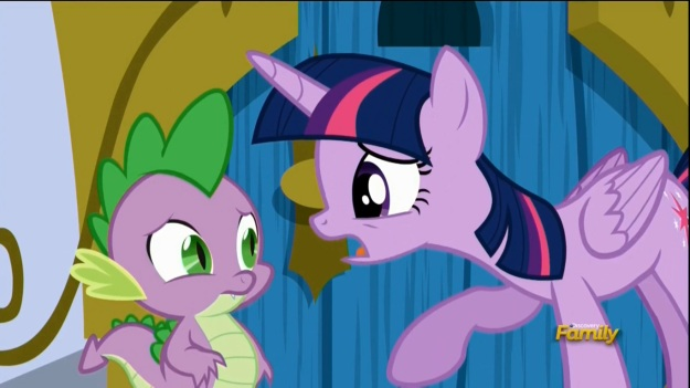 """""""And I shall swoop back into their lives and make them whole again!! I'll fill the emptiness in their soul that my absence has created! I'LL BE THE HERO OF FRIENDSHIP!!!"""" """"What, on top of being the PRINCESS of Friendship?"""""""