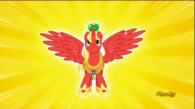 """""""The pretty guardian in a horse collar, guardian of Friendship and Justice, Sailor Mac! In the name of Apples, I'll punish you!"""""""