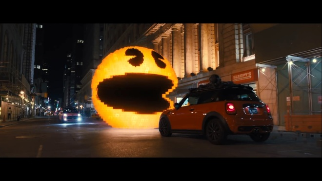 """We must stop you before you can make Pac-Man 2!!"""
