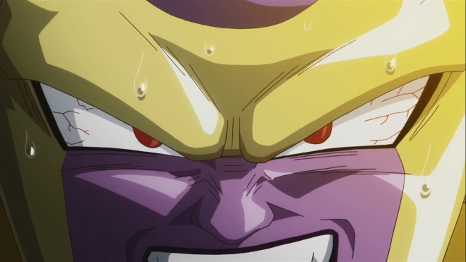 """""""Are you sorry NOW Frieza?"""" """"Oh yes! Absolutely! In fact, would you mind taking a step back and to the left? More room to… apologize."""" """"No problem new best-est buddy!!"""""""