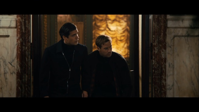Look! They're even rocking the Archer turtlenecks!