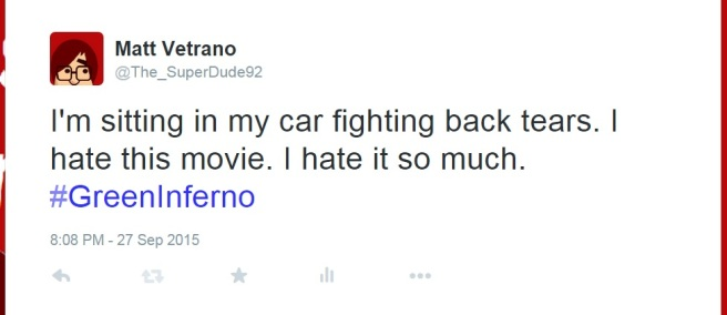 It was a forty minute drive home from the theater, and I did indeed lose that battle.