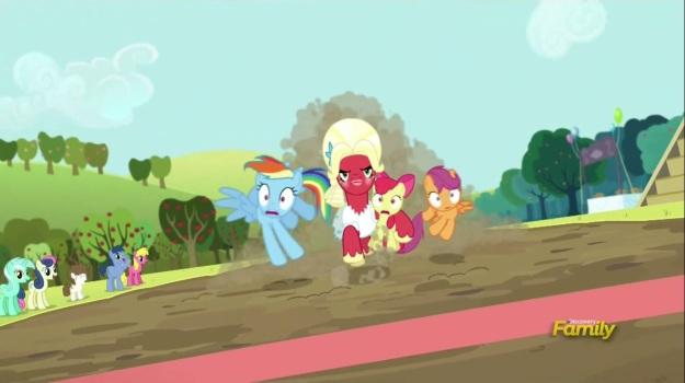 """I am Orchard Blossom! HEAR ME ROAR!!!!!"""