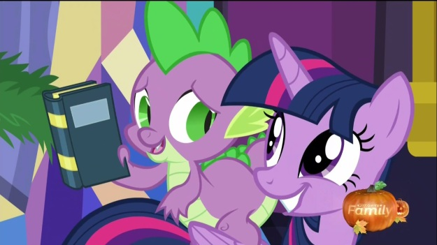 """The Tartarian Verses by Salman Rush-whinny.  Huh.""     ""Next year I'll get you The Tropic of Canterlot!""     ""If you say so."""