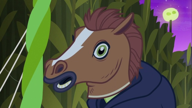 So is this the pony equivalent of those really creepy Hyperflesh masks?