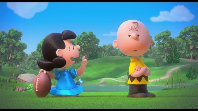 """""""Isn't this joke passé at this point?"""" """"Look Charlie Brown, we're trying to reach a new demographic here who may not have seen this bit before! Not only that, but all the parents are gonna love it because to them, mimicry is what they're looking for! It fills them with nostalgia!"""" """"Are you sure?"""" """"JUST KICK THE DAMN BALL YOU IDIOT!!!"""""""
