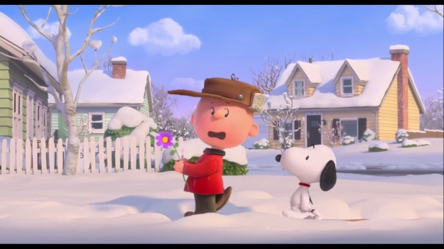 """Hey uh… Snoopy.  You wanna… help me with this Red Haired girl… situation?  WHY AM I SO AWKWARD!?!?!?!?!?!?"""