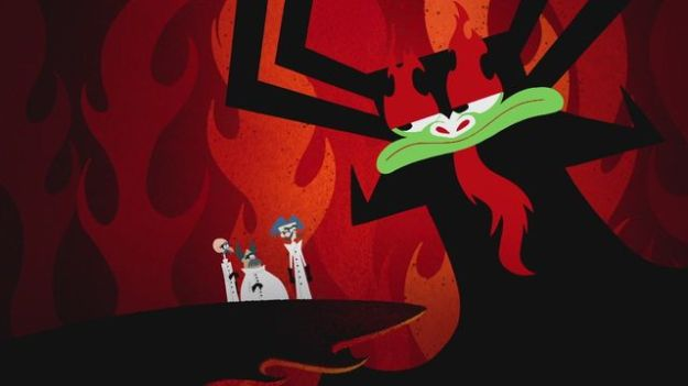 Aku_and_scientists