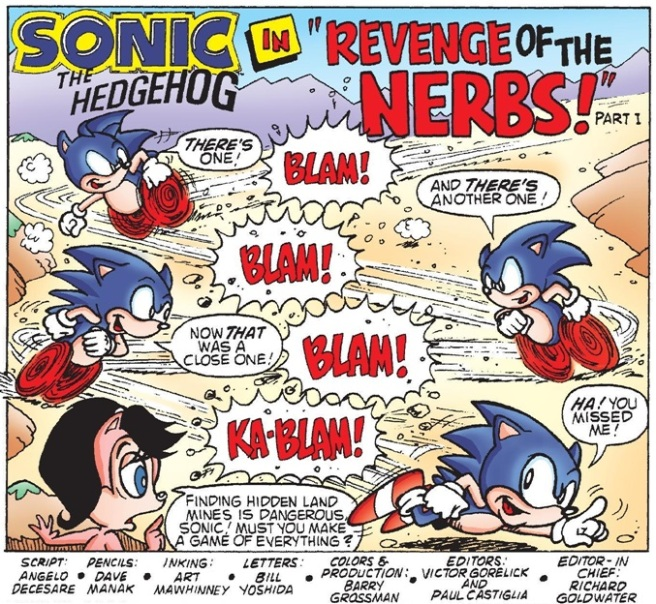 Super Comics Sonic The Hedgehog 10 11 The Reviewers Unite