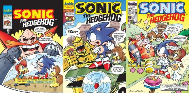 Super Comics Sonic The Hedgehog 16 18 The Reviewers Unite
